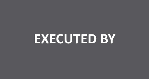 Executed By